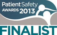 Patient Safety Awards Finalist 2013
